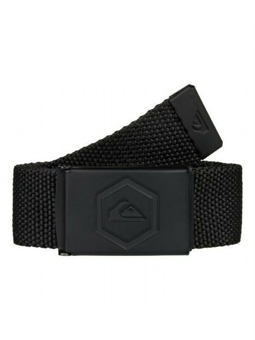 QUIKSILVER MENS BELT.PRINCIPLE III 32mm BLACK WEBBING TROUSERS JEAN STRAP 9W 40K